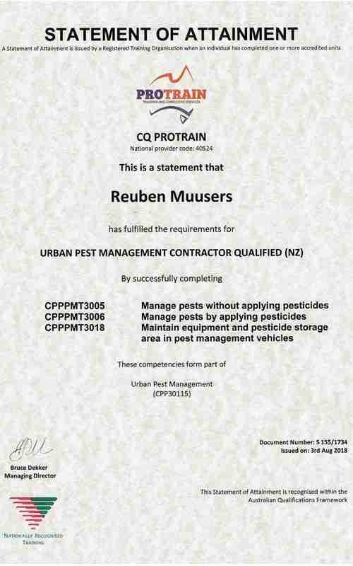 UPM-Qualification