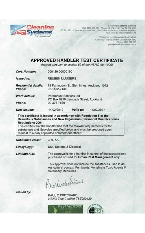 approved-handler-certificate