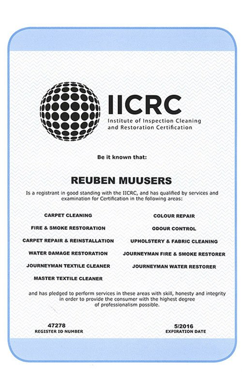 iicrc-certificate